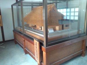 箱木千年家 主屋の模型