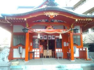 四宮神社 社殿