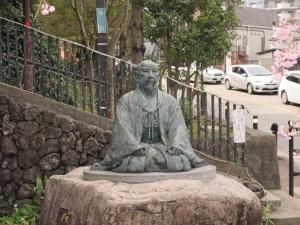 太閤秀吉の像
