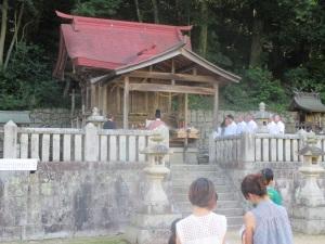 原野の八阪神社 夏祭り神事