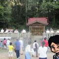 原野の八阪神社 餅まき