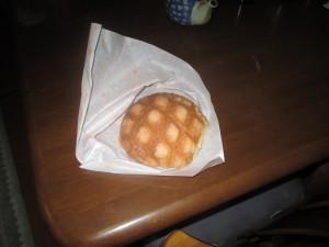 美味しいメロンパン