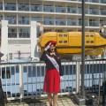 クァンタム・オブ・ザ・シーズ入港時に来ていたターミナルレディ KOBE