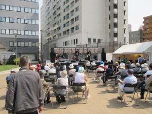 新開地音楽祭 公園ステージ