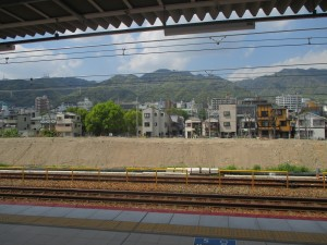 JR神戸線 摩耶駅 2