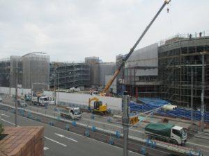 イオンモール神戸南 工事現場