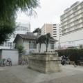 湊川公園 馬の像