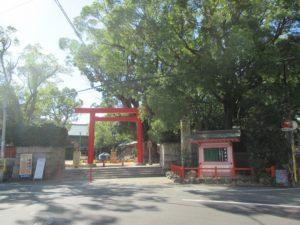 長田神社 鳥居1