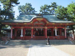 長田神社 社殿