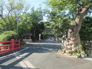 長田神社 正面入口