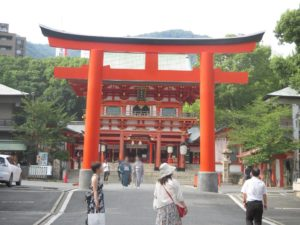 生田神社でポケモンGO 4