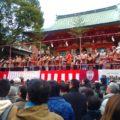 生田神社「節分祭 豆撒神事 2017」は有名人とゆるキャラがいっぱい