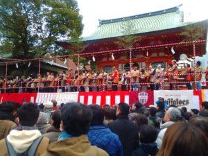 生田神社 豆撒神事1