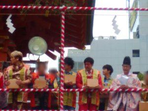 生田神社 豆撒神事4