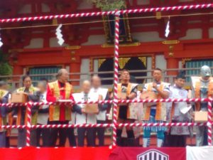 生田神社 豆撒神事3