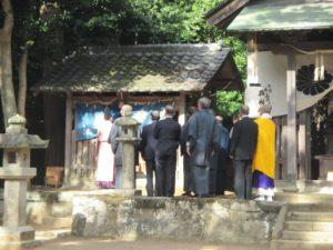 小部大歳神社 引目祭 3