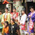 諏訪山稲荷神社 初午大祭2017 神戸清盛隊とバラバラバナナ