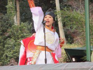 諏訪神社 餅まき 7