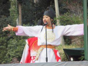 諏訪神社 餅まき 8