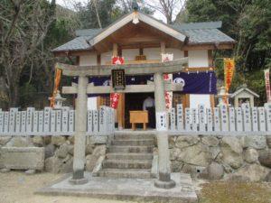 北野三森稲荷神社 社殿