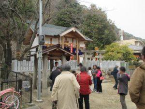 北野三森稲荷神社 二午祭 神事