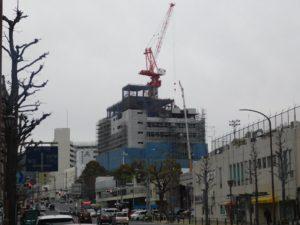 建設中の兵庫区役所